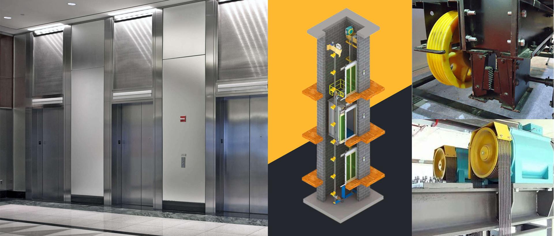 Machine Room less elevator banner